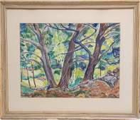 238: Bertram Hartman New York 1882-1960 (WPA artist) wa