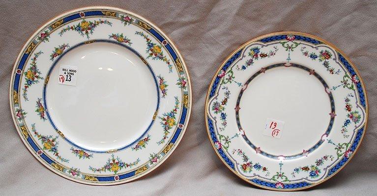 "13: 11 Minton ""Princess"" plates (10 1/4""dia), 6 Minton"
