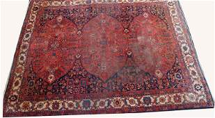 320B: Semi Antique Persian Rug, 12'6' x 10'