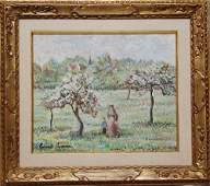 112 Paul Emile Pissarro French 1884  1972 oil on ca