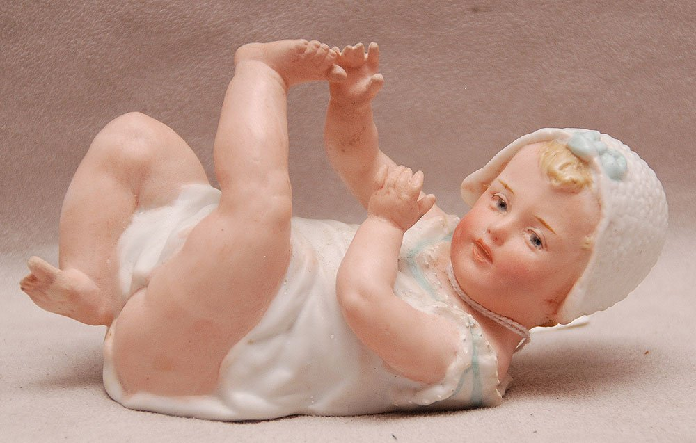 "Huebach piano baby, 5""h"