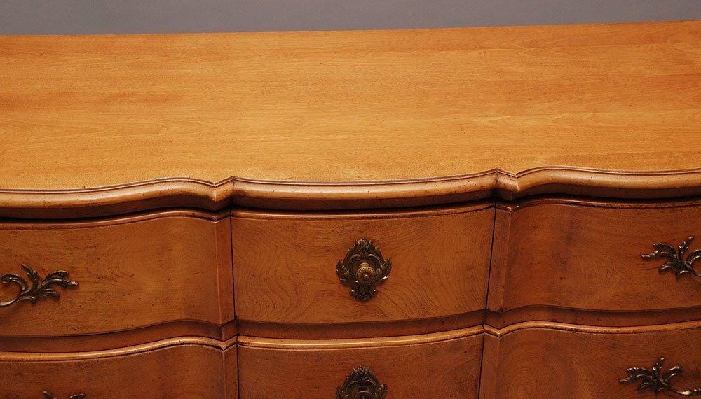French provincial style 9 drawer dresser, marked Bodart - 3