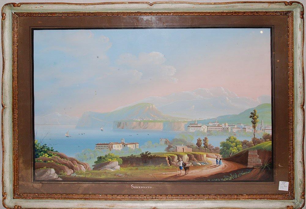 Pr. 18th/19th Century Italian Neapolitan Gouaches
