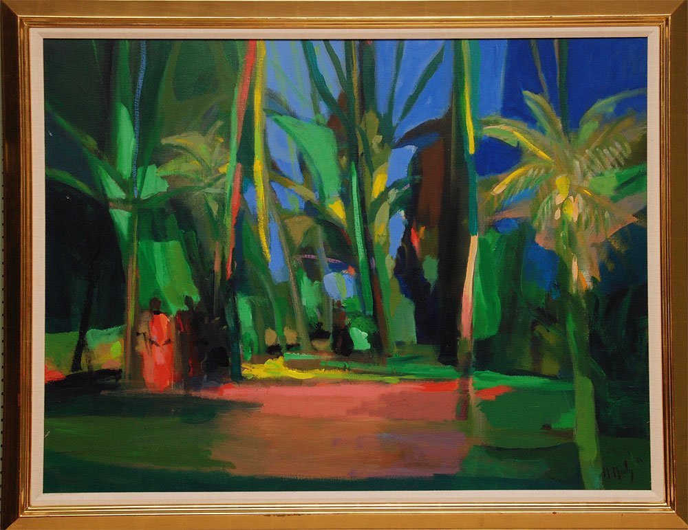 Marcel Mouly (FRENCH, 1918-2008) oil on canvas, signed