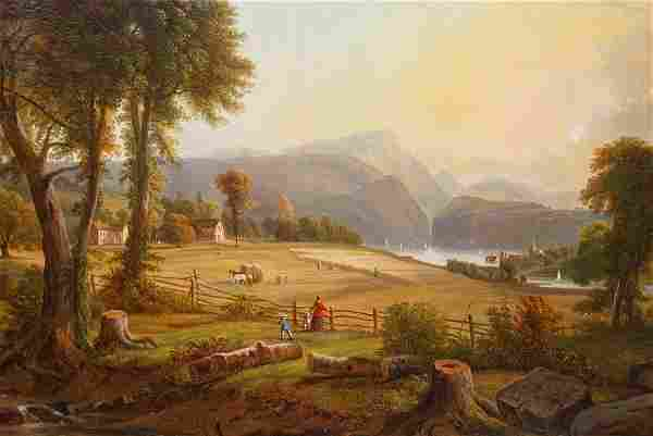 19C Hudson River Valley Painting Attr. to John Casilear