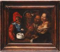Attributed to Vincenzo Campi (ITALIAN, 1532-1591) oil