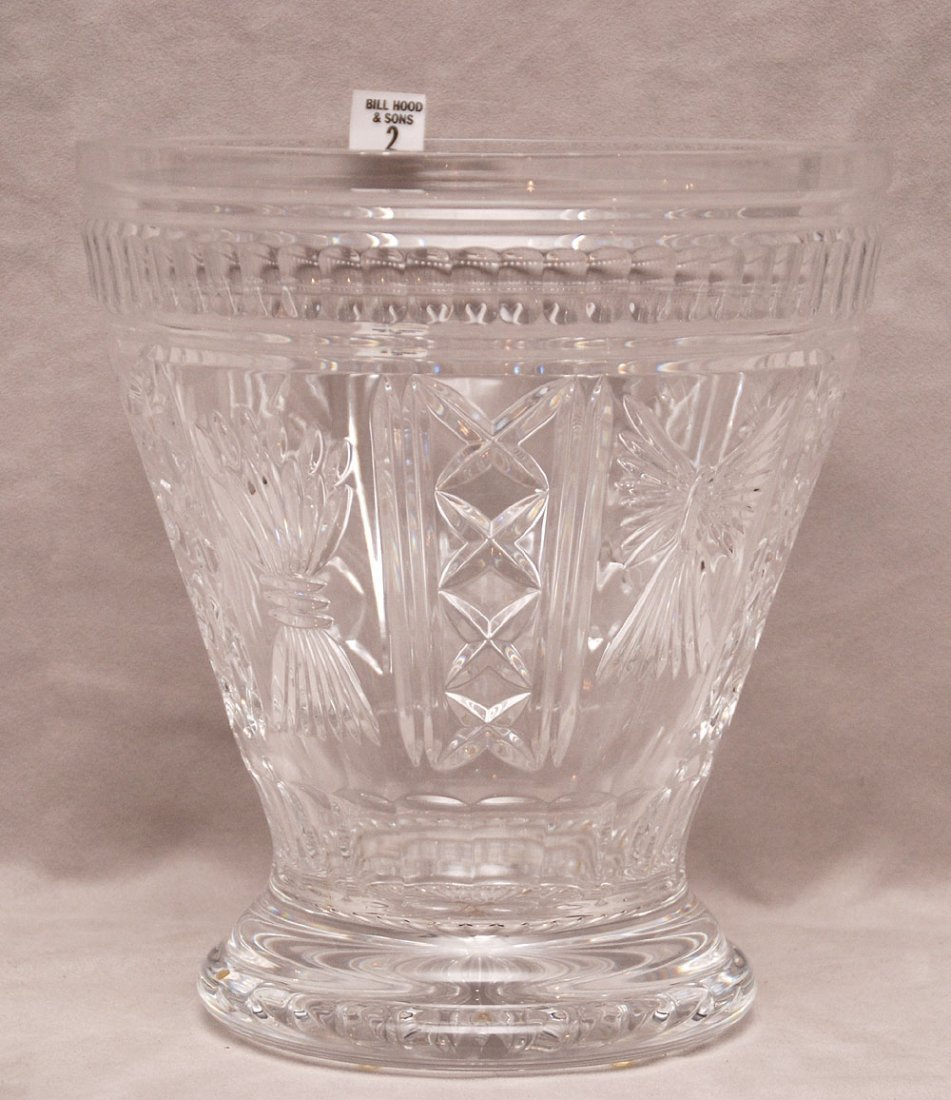 Very large Waterford centerpiece bowl/vase, original bo