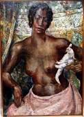 Abraham S Baylinson 18821950 NY NY oil on canvas