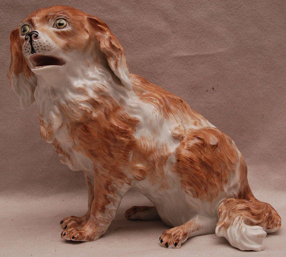 "Dresden dog, 6 1/2""h"