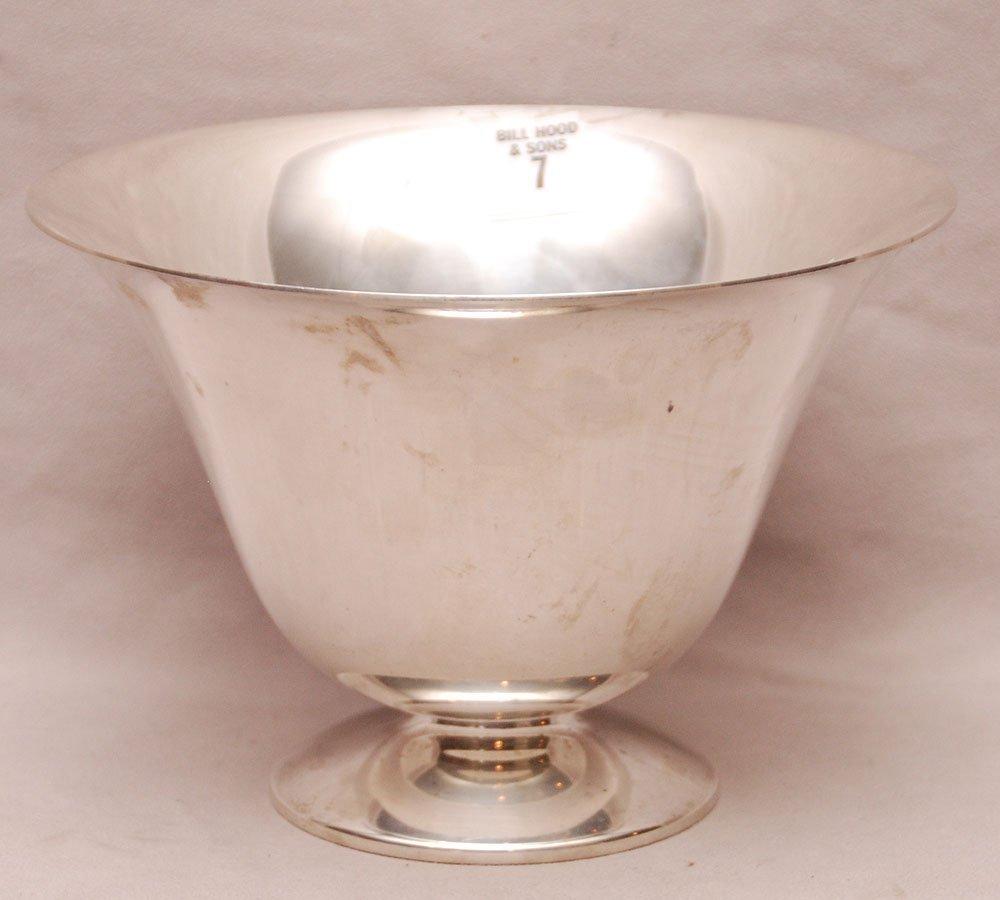 """Sterling pedestal bowl by """"Boardman"""" 22ozt, 5 3/4"""" x 8"""""""