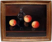 20th Century Italian School oil on canvas, Still Life 3