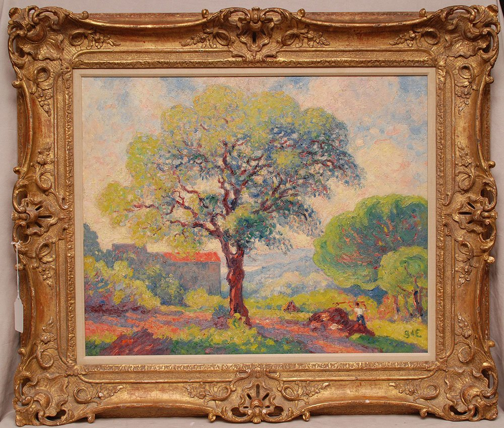 Georges d'Espagnat (FRENCH) Impressionist oil