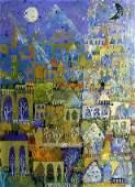 Henry Faulkner Amer 192481 Abstract Oil An oil on