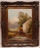 John Bates Noel (BRITISH, 19th Century) oil on canvas,
