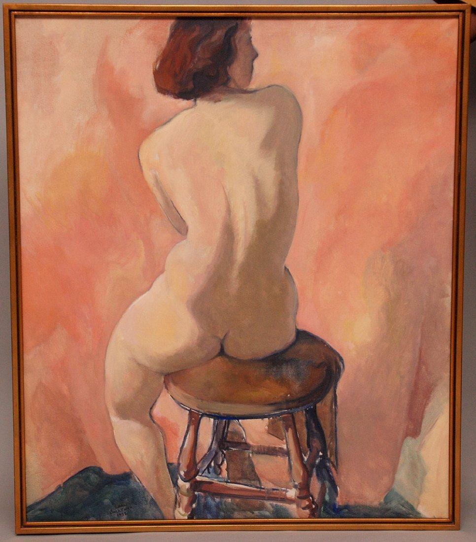Carl Frederick Gaertner (American 1898 - 1952) oil on