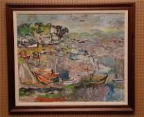 Jehudith Sobel (New York / Poland 1924 - ) oil on