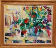 Conchita Conigliano Spain born 1943  oil on canvas