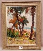 Emile Albert Gruppe  (American 1896 - 1978) oil on