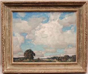 ARTHUR MELTZER (AMERICAN 1893-1989) SUMMER CLOUDS,