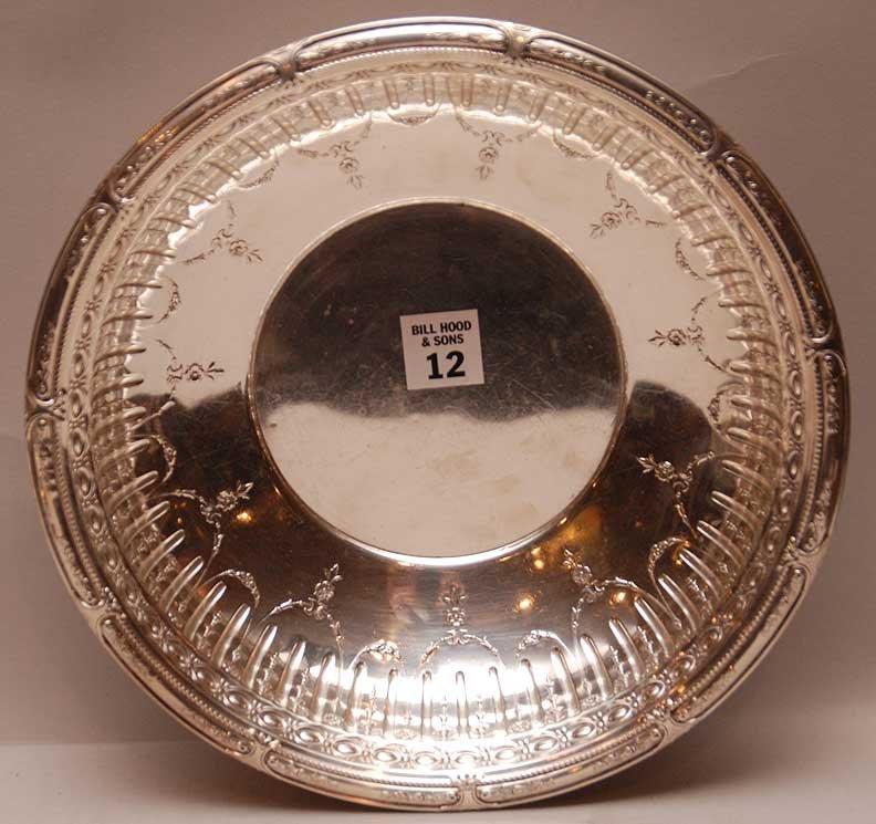 "Gorham Sterling ""Marie Antoinette"" Bowl.  Condition: mi"