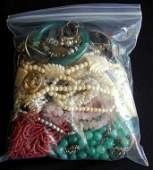 43 PCS Vintage Costume Jewelry Including necklaces