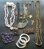 27 PCS Vintage Costume Jewelry Including necklaces