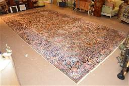 Semi Antique Kirman hand made persian Rug 196 x 116