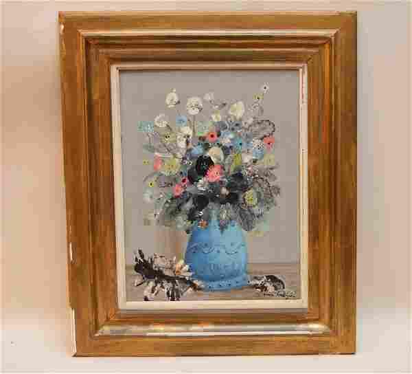Jean Calogero (Born 1923, French) Still Life Flowers,