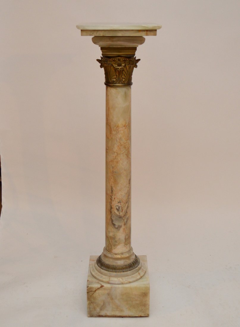 Classical onyx pedestal, 45'h
