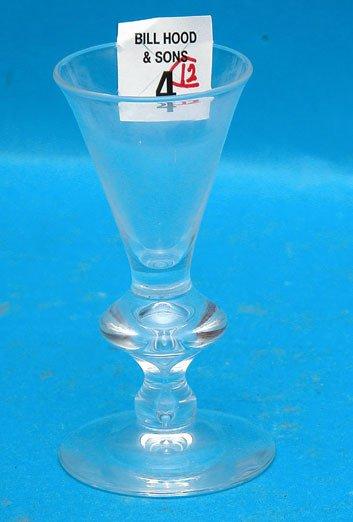 "4: 12 Steuben cordial glasses 4 1/8"""