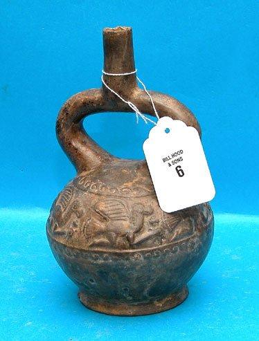 """6: South American artifact, 8 1/2"""""""