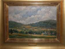88A: Emile Albert Gruppe American Vermon Painting