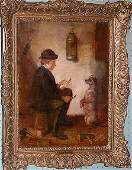 227: James Campbell Britain 1874-1903, oil painting