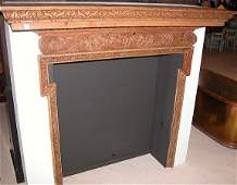 144A: Pine Fireplace Mantle