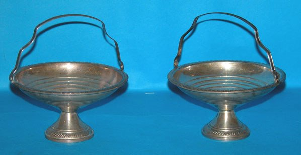 1012: Lot of 5 sterling pieces, incl.: bread tray, reti