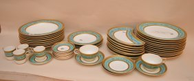 Porcelain Incomplete Chinaware, Royal Worcester 1880's,