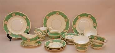 25 Pieces Royal Worcester Porcelain  Plates Dia 10