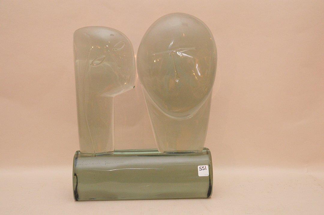 Loredano Rosin (Italian 1948-1991) Sculpture.  Bust of