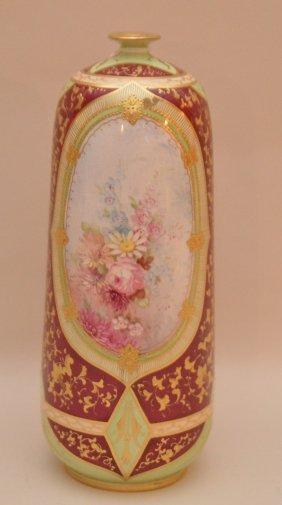 """Royal Bonn Vase Signed, 8 1/2""""h"""