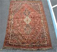 Good Semi-Antique Tribal Afshar Rug. Southern Persia