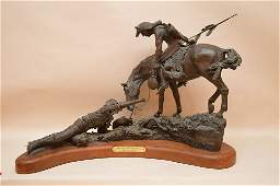 "Maher Morcos California born 1946, Western Bronze ""The"