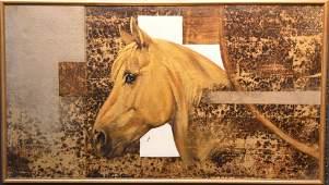 Italian 20th Century signed Bruschi, oil on canvas,