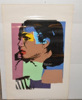 "Andy Warhol (american 1928-1987) ""ladies And Gentlemen"""