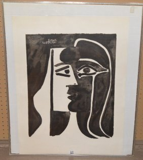 "Attributed To Pablo Picasso (spanish 1881€""1973)"