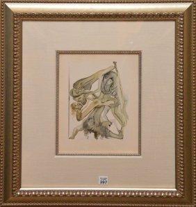 """Salvador Dali, Spanish 1904-1989, """"les Limbes"""" (divine"""