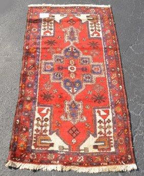 """Carpet, Caucasian Red, 3'2"""" X 5'10"""""""