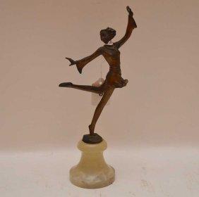 Josef Lorenzl (austrian 1892 - 1950) Bronze Deco Bronze