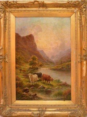 Robert Watson (united Kingdom 1865 - 1916) Cows In