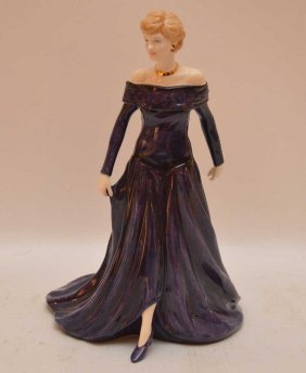 "Royal Doulton Figurine, ""diana Princess Of Wales"","