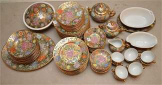 China set Made in China incl 12 soup bowls 12